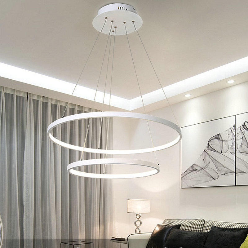 Remote control artistic round acrylic pendant lamp with LED home decoration lighting dinning room lighting fixture free shipping modern creative quality acylic led dinning room pendant lamp home decoration lighting fixture with led free shipping 110v 220v