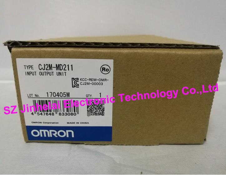 New and original CJ2M-MD211  OMRON   PLC  INPUT OUTPUT UNIT