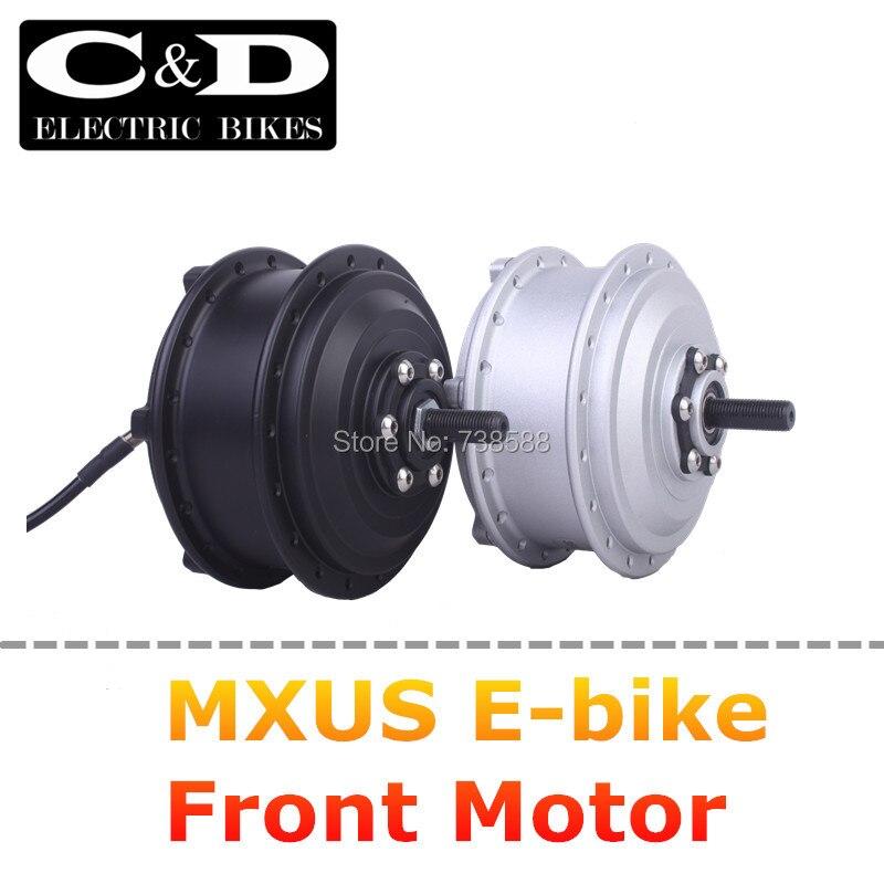 Цена за 36 В 48 В 350 Вт Высокоскоростной Безщеточный Передач Мотор Эпицентра e велосипед Мотор Переднего Колеса MXUS бренд
