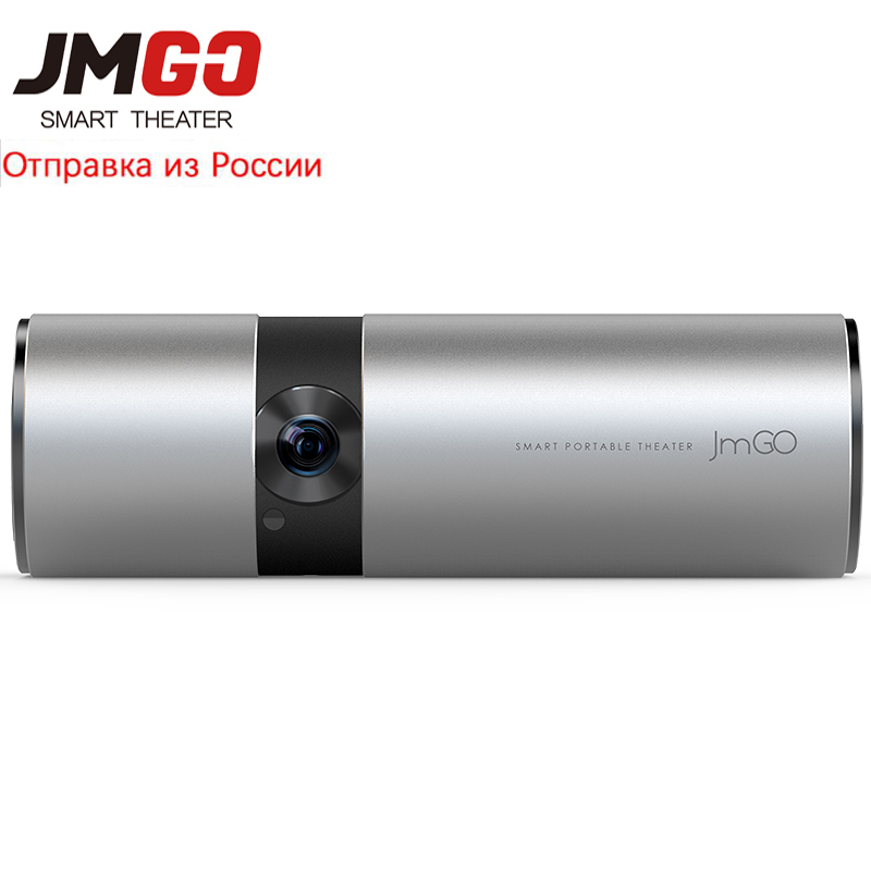 JmGO Vista jmgo P2 DLP Mini Proiettore Led Wifi 3D Full HD 1080 P di Smart Theater 180 inch HiFi Bluetooth portatile Proiettore Beamer