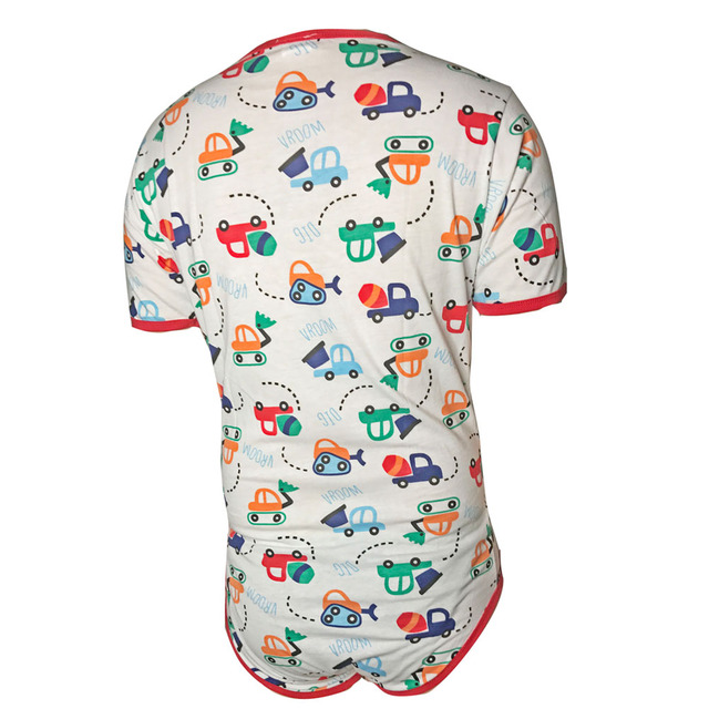Sissy Clothes for Men ABDL Diaper Bodysuit Adult Baby Onesie Snap Crotch Romper Pajamas