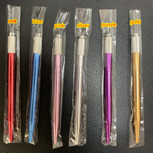 Image 1 - 20pcs Microblading Pen Kit Caneta Tebori Perfect Wires Microblading Classic Manual Eyebrow Tattoo Gun