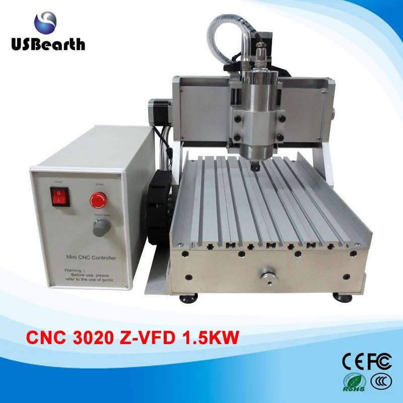 Cheap 1500w cnc router 3020 for metal cutting, 110/220V reduction sale jinan cheap cnc sheet metal cutting machine