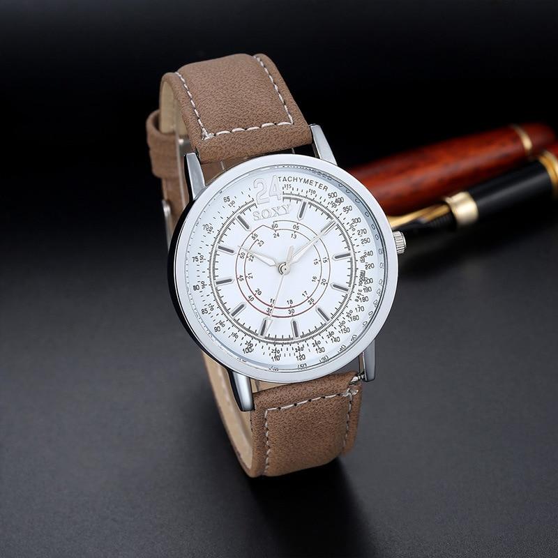 populaire herenhorloge creatieve quartz uurwerk horloge van hoge - Herenhorloges - Foto 5