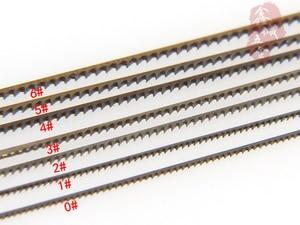 Image 5 - 12 قطع السويسرية انتقل مناشير ل قطع معدنية أدوات أدوات مجوهرات أنصال مناشير 130 ملليمتر طول اليد الحرفية