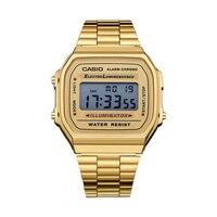 Casio watch man Casual electronic watch A168WG 9W