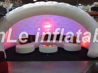 2018 alta calidad 5 m tienda inflable hemisférica portátil luna - Deportes y aire libre - foto 2