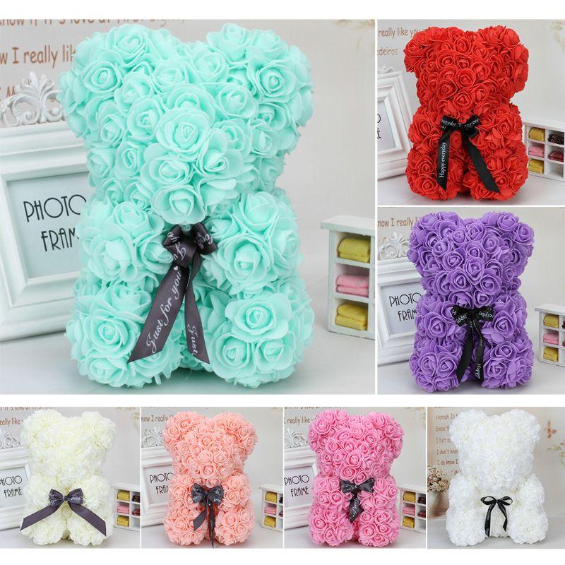 Cute Wedding Decoration Ideas: Cute Fashion Wedding Flower Bear Decoration Handmade