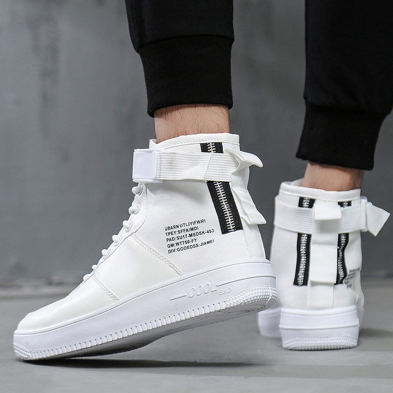 2018 Mens High Top Sneakers Skateboarding Shoes Sports Shoes Men Casual Sneakers Hip Hop Shoes Street Sneakers Chaussure Homme2018 Mens High Top Sneakers Skateboarding Shoes Sports Shoes Men Casual Sneakers Hip Hop Shoes Street Sneakers Chaussure Homme