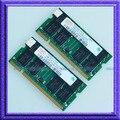 Hynix КОМПЛЕКТ 2 ГБ 2x1 ГБ DDR PC2700 333 МГц 200pin Памяти Ноутбука Для Dell Inspiron 1150 1200 2200 2650/IBM Thinkpad T40 T41 T42