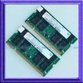 KIT de Hynix 2 GB 2x1 GB PC2700 DDR 333 MHz Memoria 200pin Portátil Para Dell Inspiron 1150 1200 2200 2650/IBM Thinkpad T40 T41 T42