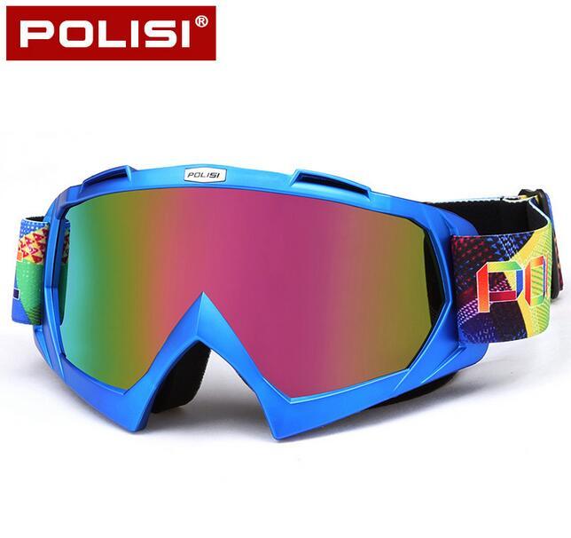 POLISI Мотокросс по бездорожью Шлемы очки мотоцикл mbx горные Байк Велоспорт Очки Лыжный Сноуборд Анти-туман очки