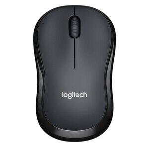 Image 2 - Logitech M220 Draadloze Muis Stille Muis Met 2.4 Ghz Hoge Kwaliteit Optische Ergonomische Pc Gaming Muis Voor Mac Os/Venster 10/8/7