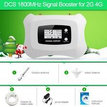 Большой охват Smart 2G 4 г усилитель сигнала 1800 с антенны Яги и потолок антенна просты в установке