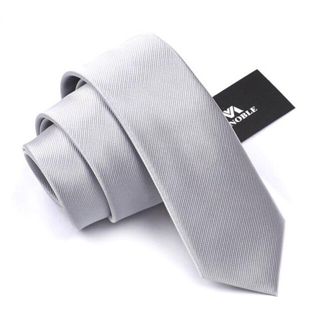 2016 Nuevo Lazo de Los Hombres Corbatas de Seda Hombres de La Boda de Navidad Classic Marca Novio Corbata Flaca Corbatas Luz Púrpura Corbatas Delgadas 6 cm