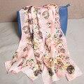 102233 22 Colors 180x70cm 2017 Women's Fashion Silk Shawls Scarf, Fashion Scarf, Ladies' Silk scarf, Rectangle Scarf