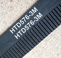5 unids/pack 576-HTD3M-6mm correa longitud 576mm ancho 6mm paso 3mm de Neopreno De Goma HTD 3 M STD S3M ajuste polea CNC máquina