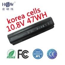 Genuine Batterie for HP Pavilion DM4 DV3 DV5 DV6 DV7 G32 G42 G62 G56 G72 for COMPAQ Presario CQ32 CQ42 CQ56 CQ62 CQ630 CQ72 MU06 12 cell extended life battery for hp compaq presario cq32 cq42 cq56 cq62 cq72