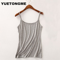 2017 Summer Style Women Tops Sexy Camisoles For Ladies Black Spaghetti Strap Modal Cami Top BTL119