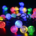 20 LED Ball Solar Powered String Christmas Light For Outside Patio Party Outdoor -Y103