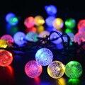 20 LED Bola de Energía Solar Luz de la Secuencia de la Navidad Para Patio Exterior Del Partido Al Aire Libre-Y103