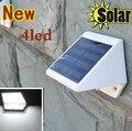 Luces al aire libre Con Energía Solar 4 LED Camino Arriba-Stair Pared de la Cerca Jardín Patio de La Lámpara