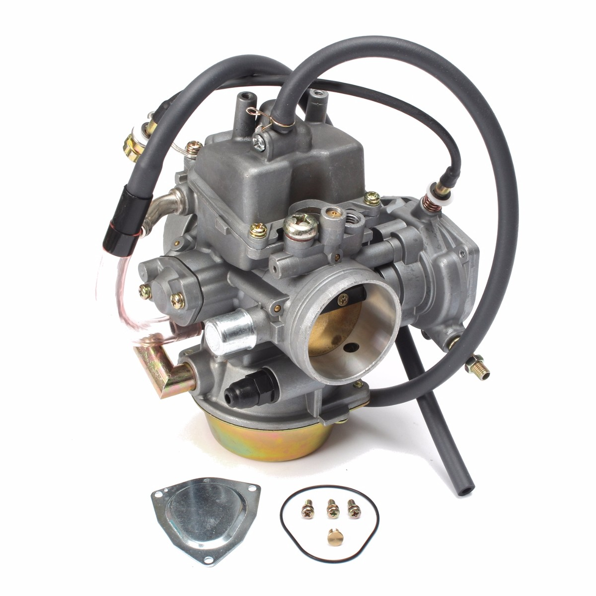 Engine Carburetor Carb Kit Replacement For Yamaha ATV Grizzly 600 YFM660 02-2008 wheel bearing for yamaha grizzly 660 700 550 atv yfm660 93305 00602 00 4 pcs