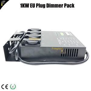 Image 4 - Cpu Digitale Technologie Matrix 4 Kanalen 1kw Dmx Dimmer Achter Controller Dimmen Pack Voor Stage Verlichtingsarmaturen