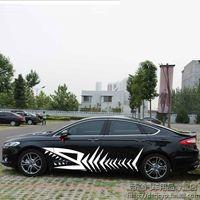 הונדה crv crv מכונית גוף SUV מדבקה דקורטיבי off מדבקה דקורטיבי אישיות רכב הכביש המתאים הונדה CRV CRV (1)