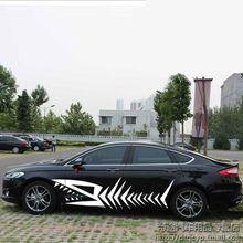 car body decorative sticker SUV off road vehicle personality decorative sticker Suitable for honda CRV CR-V цены онлайн