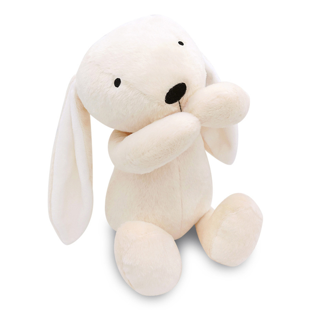 New Arrival Infant Baby Cute Bunny Toys Appease Towel Handbell Rabbit doll Bunny Sleeping Mate Stuffed &Plush Animal Baby Toys
