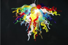 Free Shipping Fanstic Modern Flower Design Cheap Mini Hanging LED Chandelier