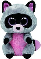 Ty Beanie Boos Rocco Raccoon Guardians Of The Galaxy Rocket Raccoon Big Eyes Plush