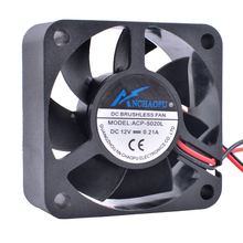 COOLING REVOLUTION ACP-5020L 5cm 50mm 5020 12V 0.21A Hydraulic bearing large air volume 2pin cooling fan