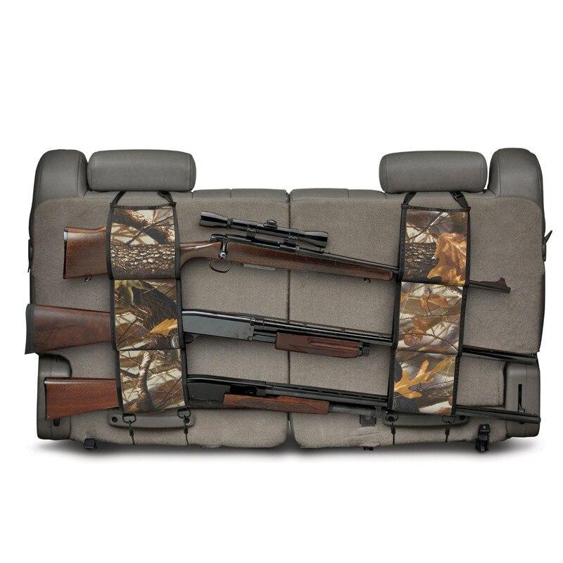 Outdoor Hunting Multi-Functional Camouflage Car Rear <font><b>Seat</b></font> Belt Equipment Kits Gun <font><b>Rack</b></font> Hunting Bag Tactical Backpack Bag