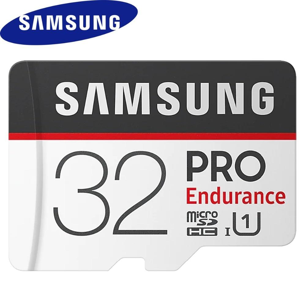 SAMSUNG PRO Endurance Micro SD 32GB Card Class 10 4K 128G 64GB SDHC SDXC High Speed Memory Card U1 UHS-I TF Flash Card For table