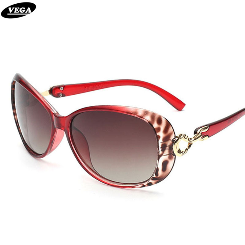 VEGA font b Fashion b font Women Sunglasses font b Polarized b font Gradient Glasses Ladies