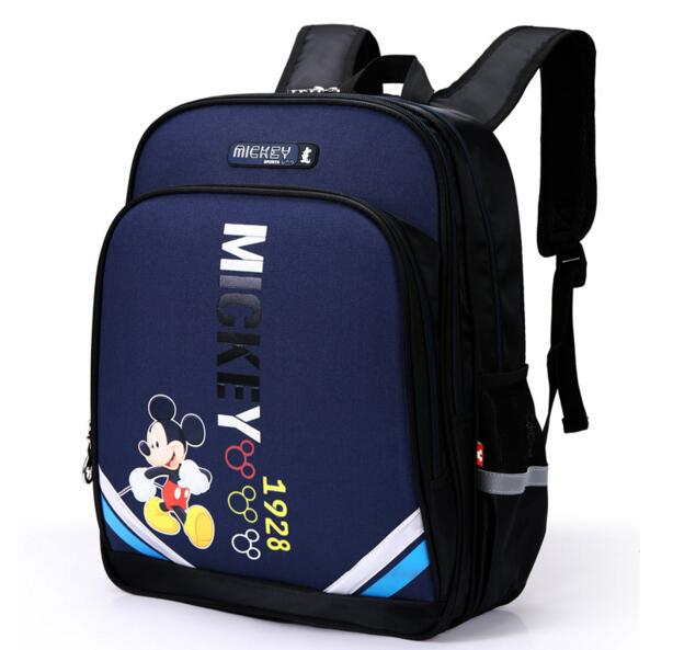 New children s cartoon schoolbags polyester zipper Backpack four colors to  choose waterproof Mesh bag burdens school bags-in School Bags from Luggage    Bags ... 0b49969746af9