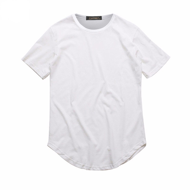 Curved Neck Tee
