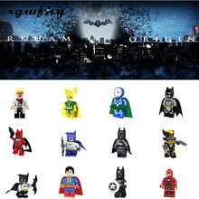 Hot Super Heroes The Dark Knight Film 24 Gaya Batman Mini Blok Bangunan Action Figure Batu Bata Mainan Anak Hadiah JM218(China)