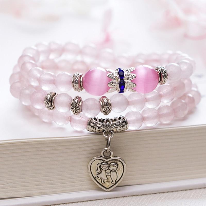 Fashion female 2018 new bracelet female character string jewelry gift for female