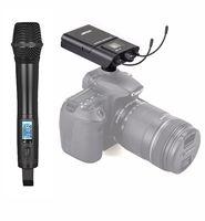 ACEMIC UHF Настоящее Разнообразие беспроводной микрофон ручной микрофон DSLR/DV