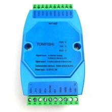 4AI4AO Universale 4 canale analogico di ingresso isolato, 4 canale analogico isolato modulo di uscita 1 in 4 out trasmettitore 0 10 v 4 20mA