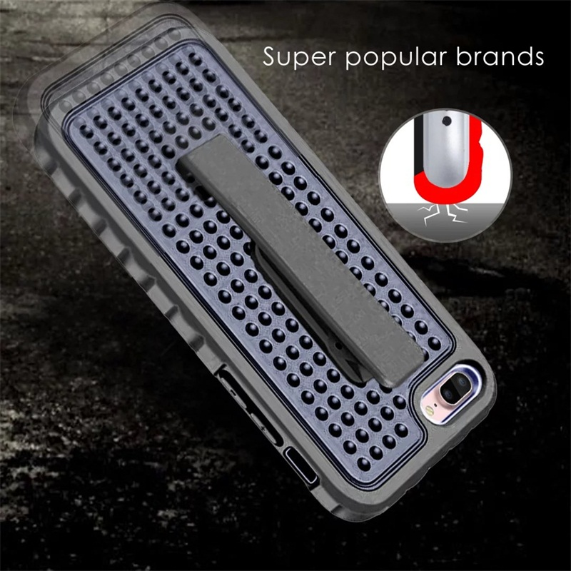 Defender Shockproof Armor Case for iPhone 6 6S 6s Plus 4.7 5.5 Tough Belt Clip Back Cover Armour Phone Case for iphone 7 7plus