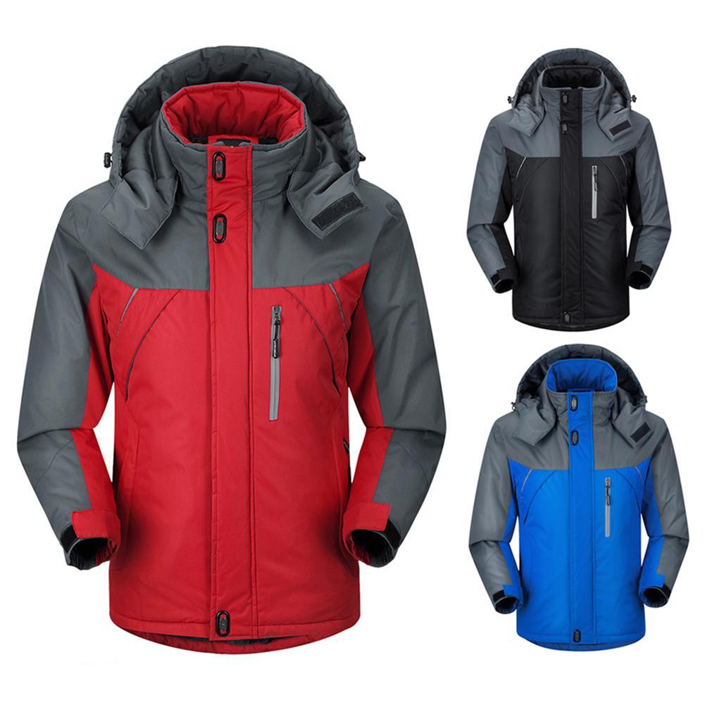 Mounchain 2018 hommes femmes randonnée en plein air imperméable détachable veste polaire chaud coupe-vent snowboard ski vestes mâle M-2XL