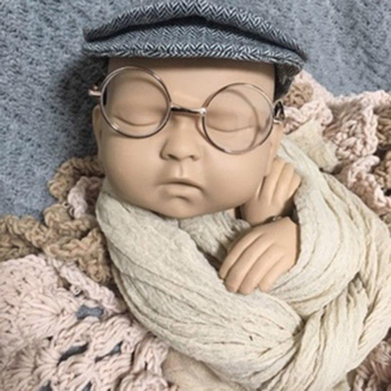 Обучающая модель для фотосъемки новорожденных, металлический шарнир, кукла для новорожденных, реквизит для детской фотосессии, студийная тренировочная кукла