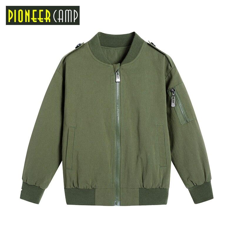 Pioneer Kids/Новое поступление 2017 для маленьких мальчиков 110-160 см Весенние жакеты верхняя одежда флисовая куртка для Обувь для мальчиков Дети Вес...