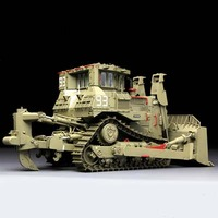 Сборки колесница модель Мэн SS-002 1/35 D9R бронированный бульдозер войны Монстры модель