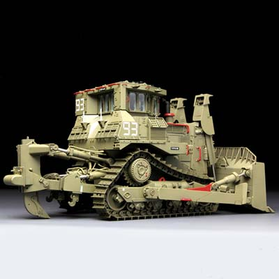 Assembly Chariot Model MENG SS-002 1/35 D9R Armored Bulldozer War Monsters Model