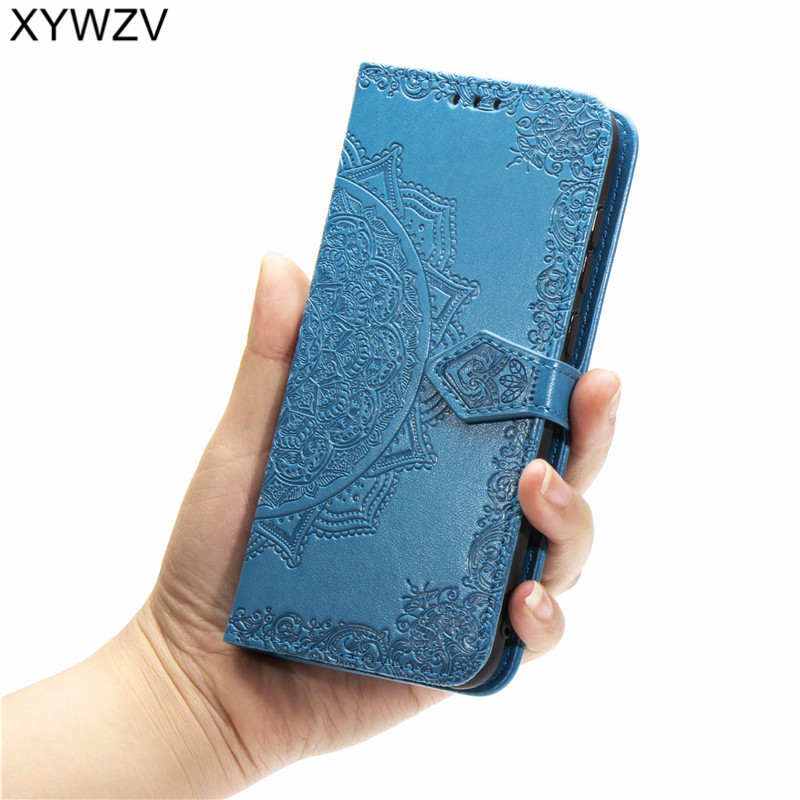 Image 5 - For Samsung Galaxy A60 Case Shockproof Luxury Flip Wallet Soft Silicone Phone Case Card Holder Fundas Back Cover For Samsung A60-in Flip Cases from Cellphones & Telecommunications